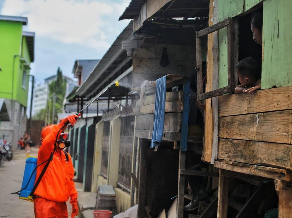 Tahapan Pilkada Ditunda Imbas Corona, Tim Cakada Makassar Buat Aksi Kemanusiaan