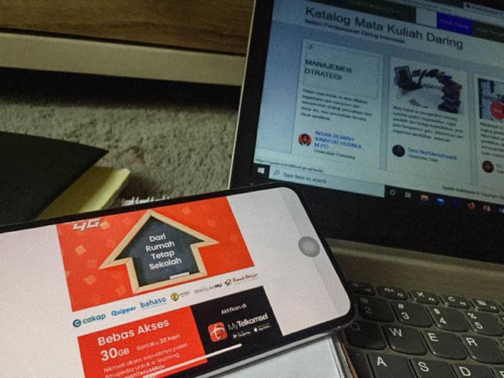 Kuota Belajar Telkomsel 10GB Harga Rp 10 dan Cara Mendapatkannya