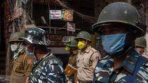 India Lockdown Total karena Corona, 1,3 Miliar Orang Dikarantina 3 Pekan