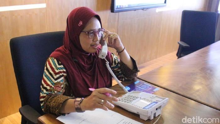 Staf Seksi Promosi Kesehatan Dan Pemberdayaan Masyarakat Dinkes Kota Kediri Erna Agustina
