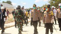 Tinjau Progres RS Corona di Kepri, Panglima TNI: Senin Efektif Beroperasi