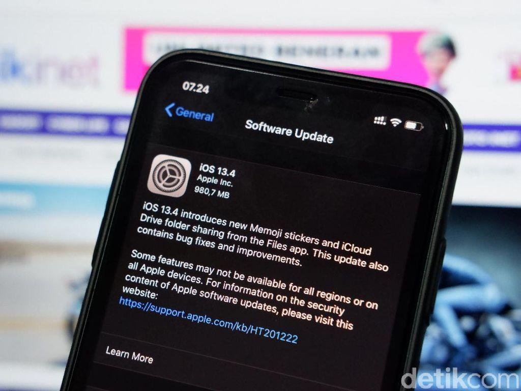 iOS 13.4 Dirilis, Ini Daftar Perangkat  yang Mendukung dan Cara Updatenya