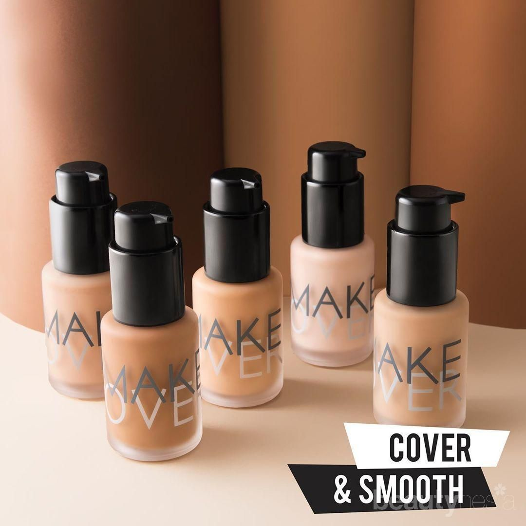 Perbedaan Make Over Powerstay Weightless Liquid Foundation dan Make Over Ultra Cover Liquid Matte Foundation