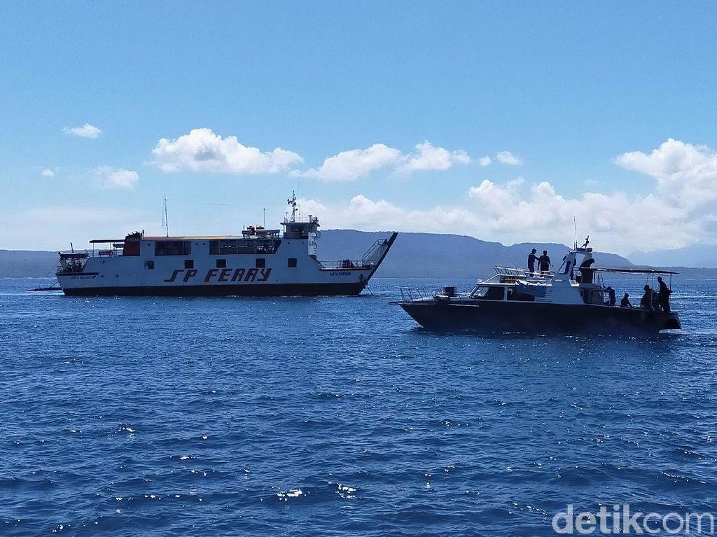 Empat Kapal TNI dan Polri Amankan Selat Bali Saat Nyepi