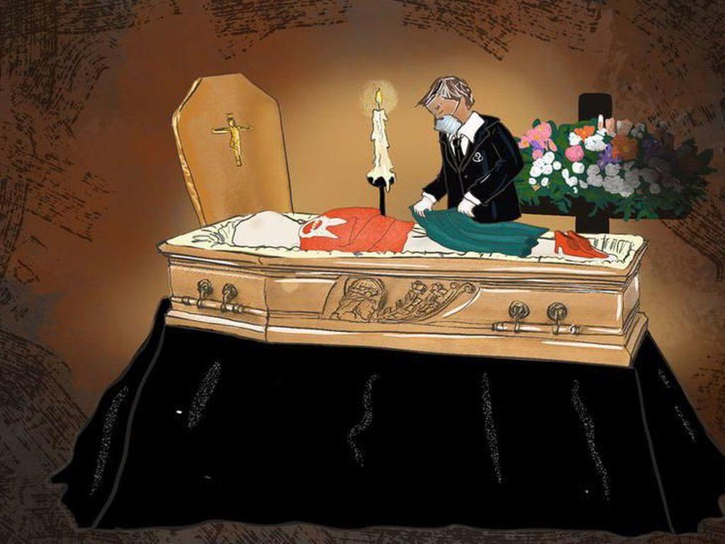 Upacara Pemakaman Dilarang, Kematian yang Sunyi Bagi Pasien Corona di Italia