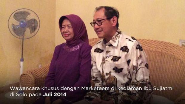 Kisah Sujiatmi di Balik Sukses Jokowi: Anak Saya Seorang Pemberani