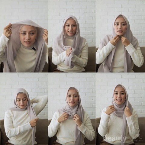 Gak Ribet Ini 7 Tutorial Hijab Untuk Travelling Yang Bisa Kamu Coba