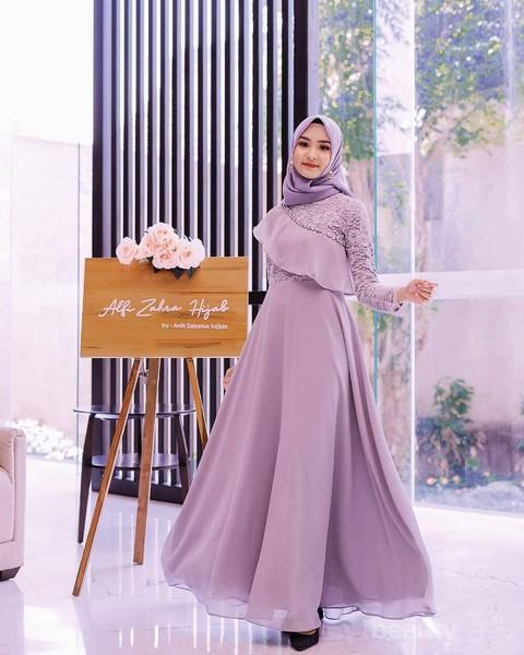 6 Tren Model Gaun Pesta Untuk Muslimah 2020