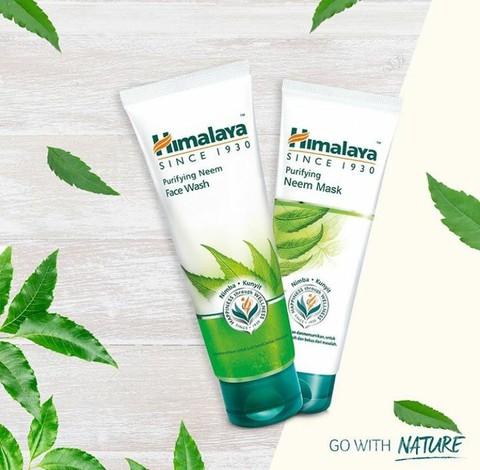 Himalaya Herbals Purifying Neem Face Wash Ampuh Hilangkan Jerawat