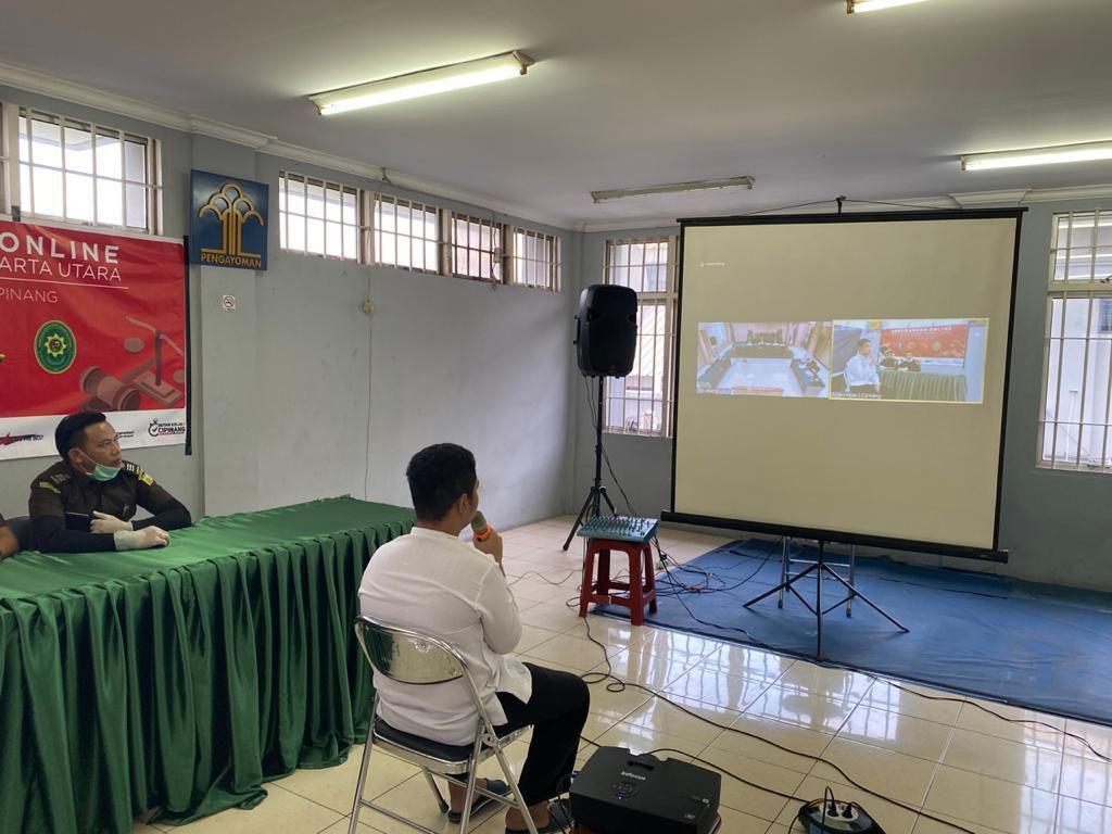 Cegah Penyebaran Corona, PN Jakut-Kejari Jakut Gelar Sidang Online