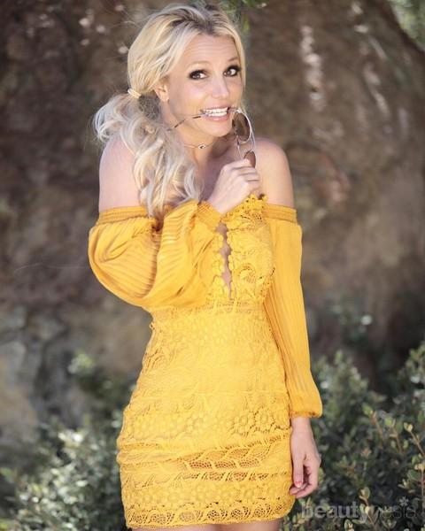 Masuki Usia 38 Tahun, Begini Pesona Britney Spears yang