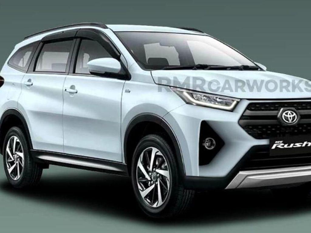 Inikah Wujud Toyota Rush Facelift?