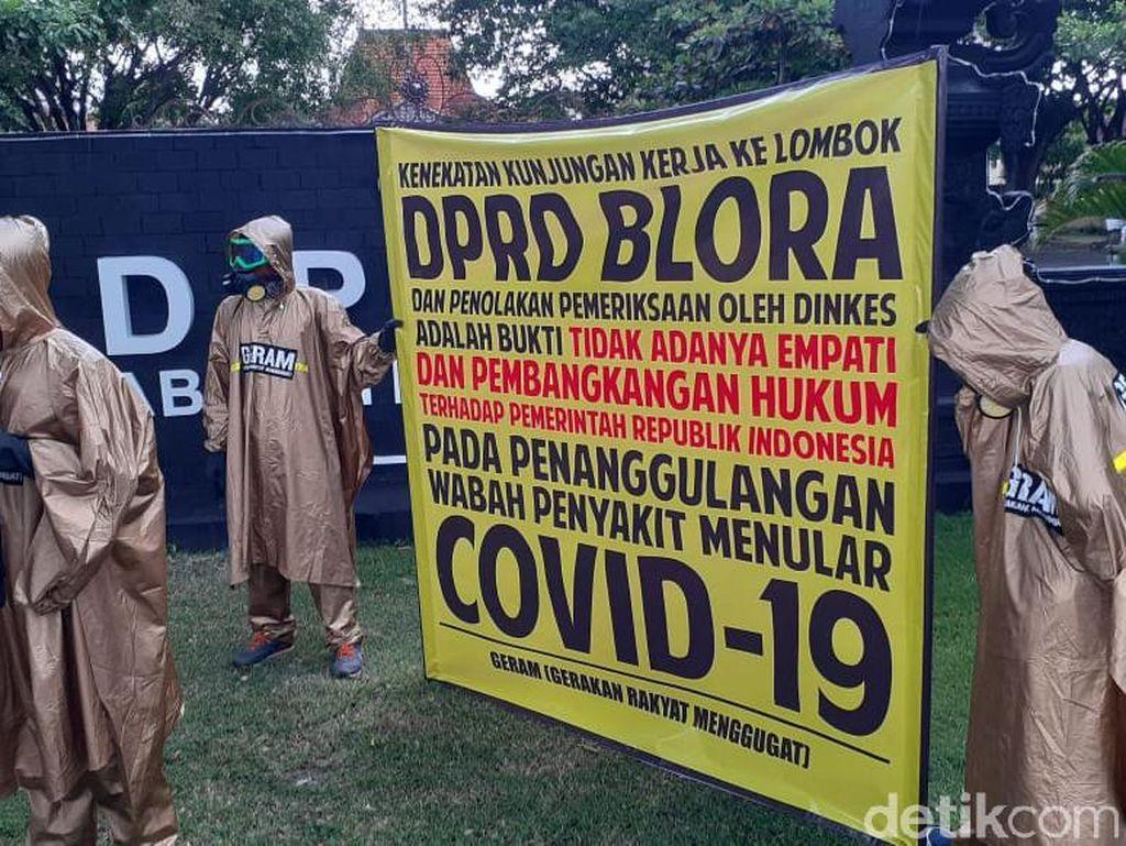 Penolakan Cek Kesehatan Anggota DPRD Blora Berujung Demo