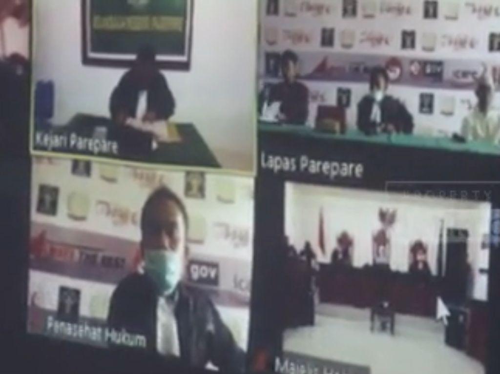 Melihat Sidang Perkara Pidana Secara Online di Parepare