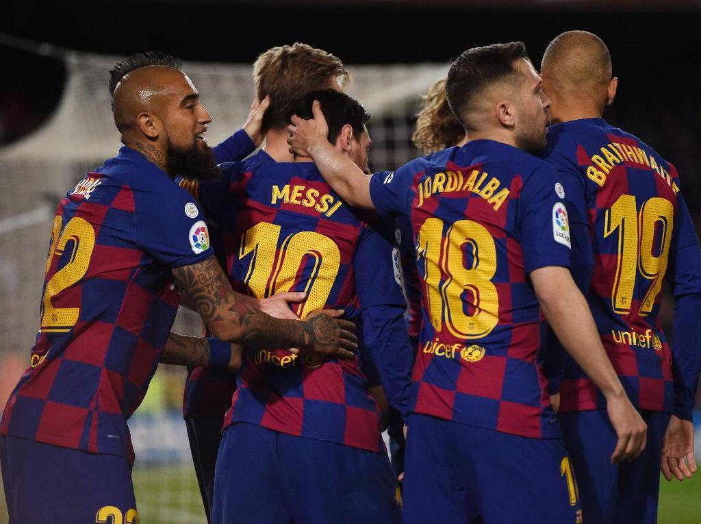 Gaji Messi cs Dipotong Buntut Pandemi Corona