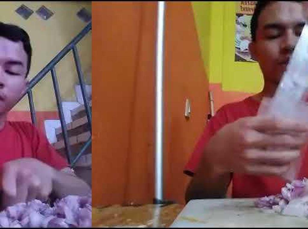 Buat Tutorial Menangis, Pria Ini Potong Bawang Dalam 11 Video di YouTube