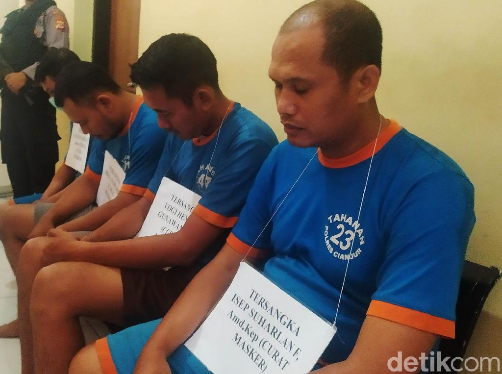 Pelaku PNS Jadi Otak Pencurian Masker di RSUD Pagelaran Cianjur