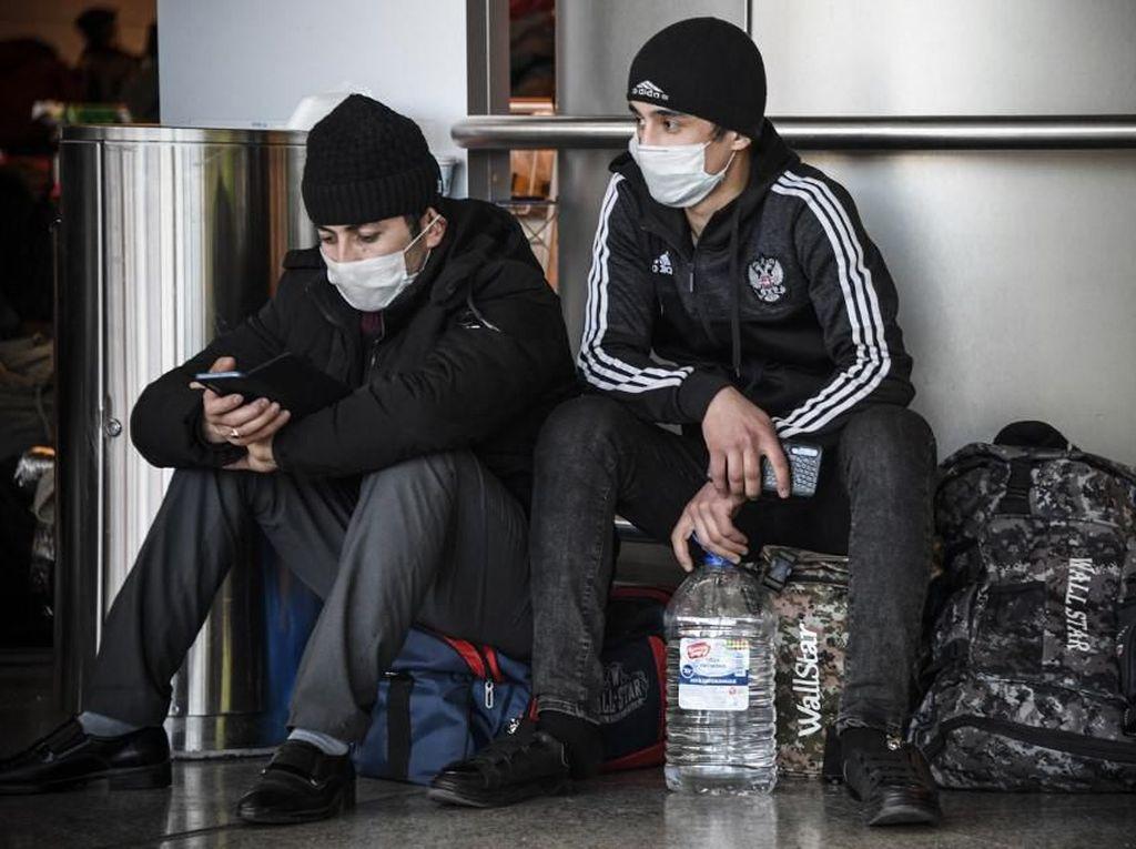 Rusia Setop Penerbangan Internasional Mulai 27 Maret karena Virus Corona