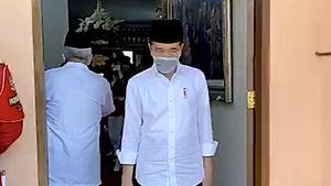 Video: Raut Wajah Jokowi Melepas Kepergian Ibunda Tercinta