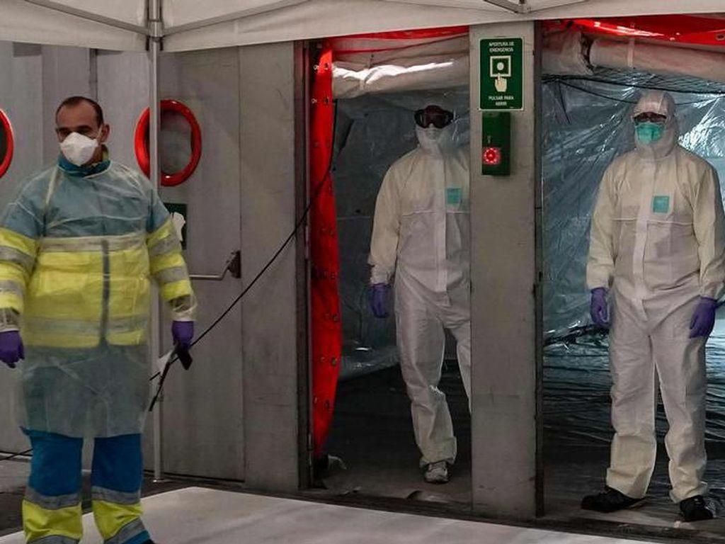 Kematian karena Corona di Spanyol Lampaui China, Jerman Sepakati Bantuan Ekonomi