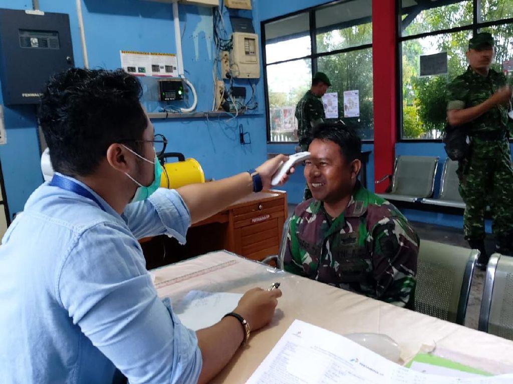 Cegah Corona di Tarakan, Ini Sinergi Pertamina EP dan Kodim 0907/Trk