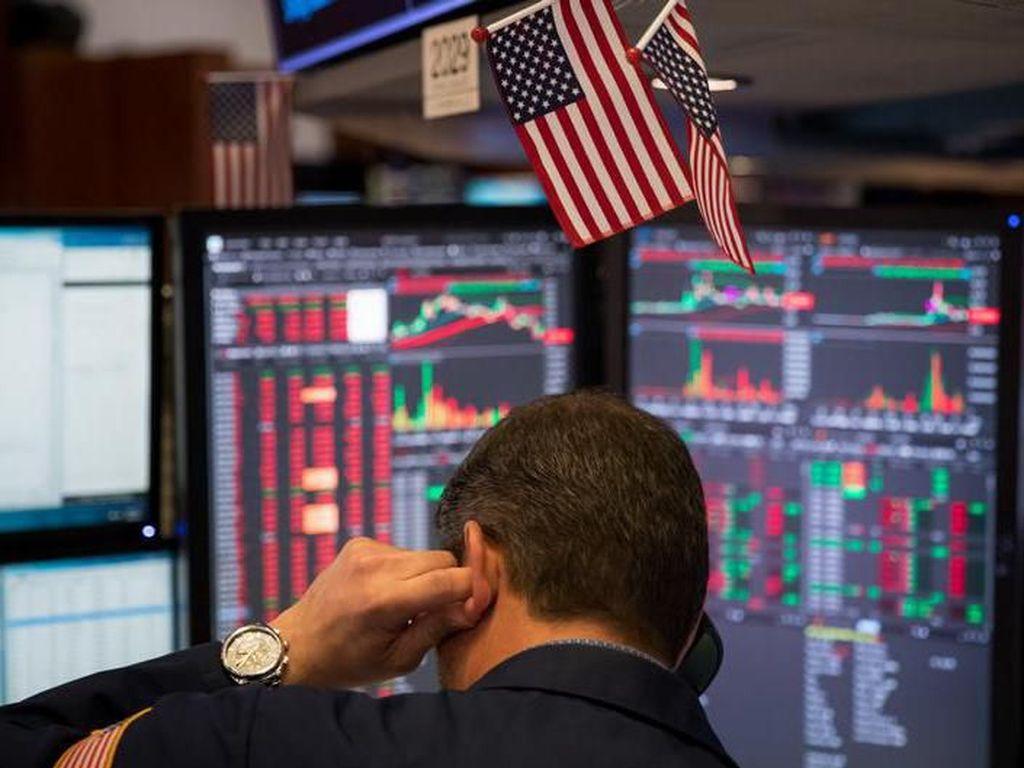 Ekonomi AS Diramal Anjlok Sampai Minus 9% Gegara Corona