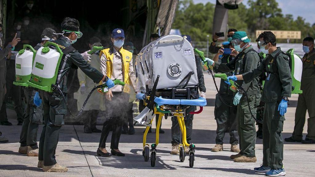 Intip Simulasi Pemindahan Pasien ke RS Corona di Pulau Galang