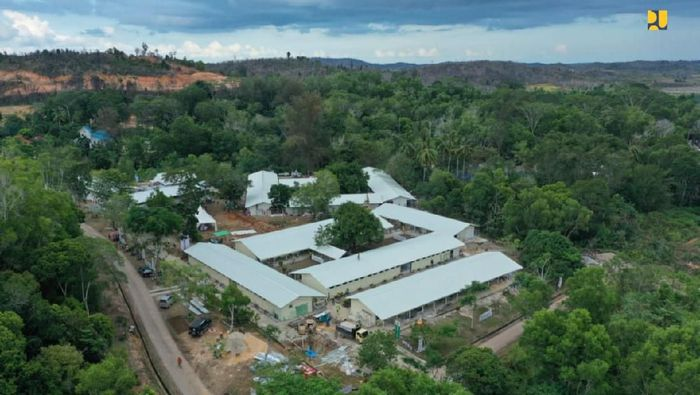 Proyek pembangunan Rumah Sakit Corona dimulai