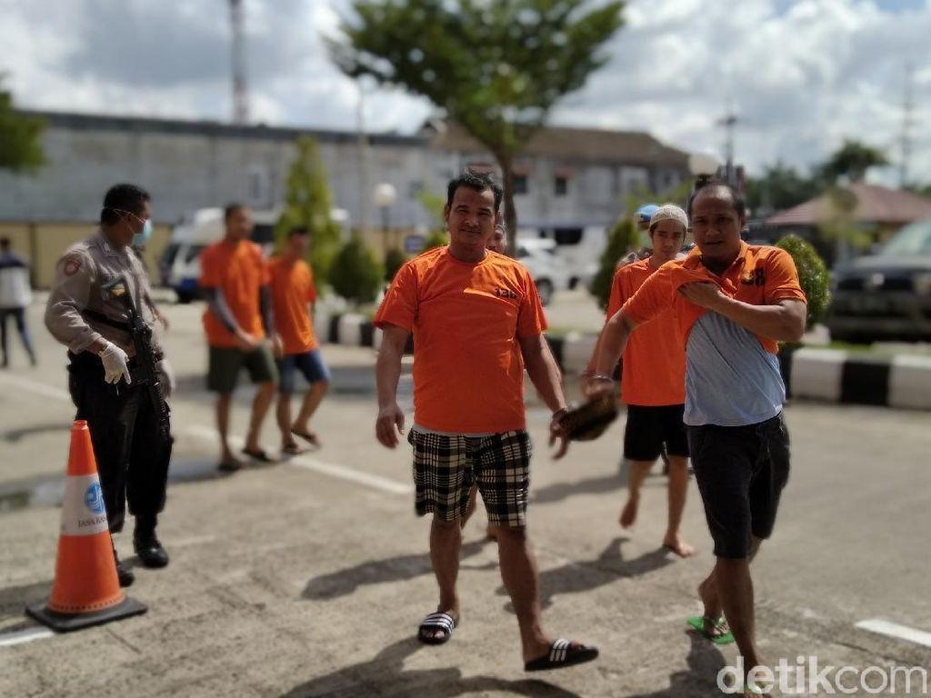 Tahanan Polresta Samarinda Dicek Kesehatan-Dilarang Dibesuk Cegah Corona