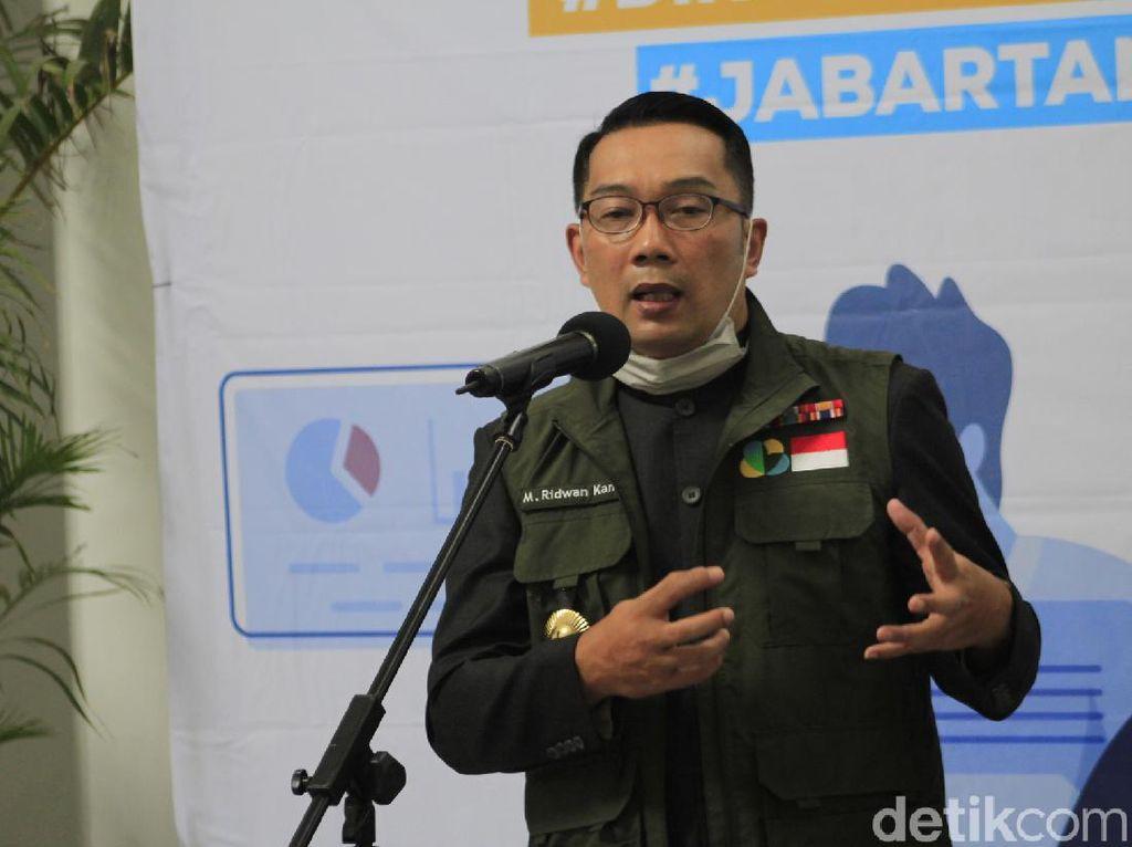 Gaji Ridwan Kamil dan PNS Jabar Dipotong demi Lawan Corona