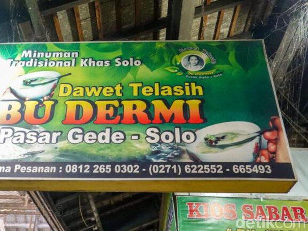 Jajan Es Dawet Telasih Bu Dermi, Kuliner Favorit Jokowi di Dekat UNS