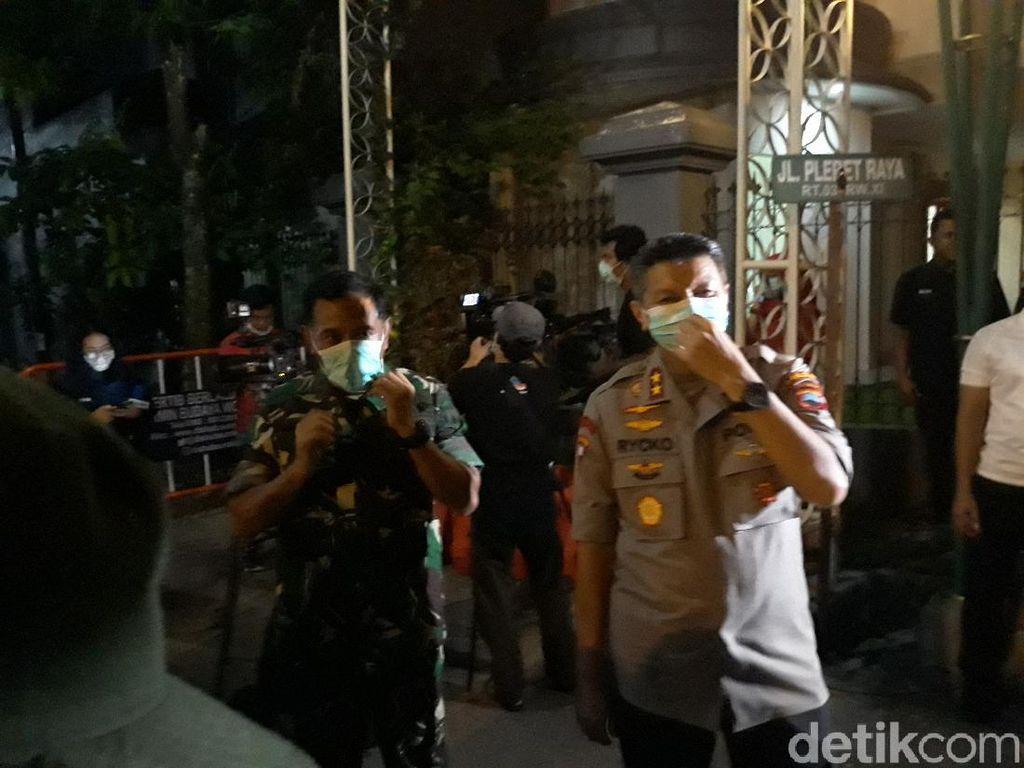 1.200 Personel TNI-Polri Siap Amankan Pemakaman Ibunda Jokowi