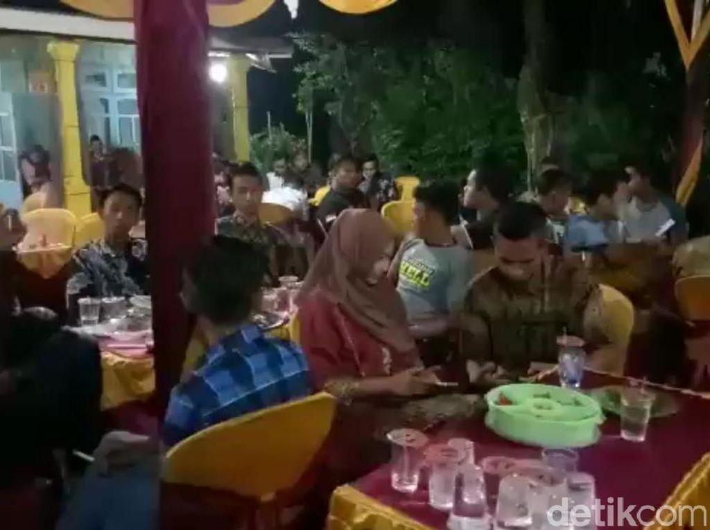 Viral Hajatan Nikahan di Mojokerto Dibubarkan Khawatir Corona