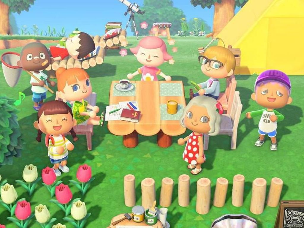 Animal Crossing Genjot Penjualan Nintendo Switch