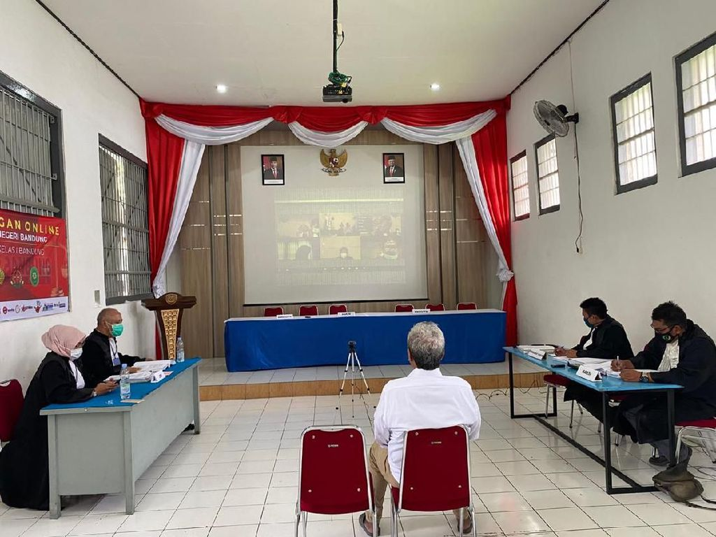 New Normal, Sidang di Bandung Tetap Digelar Online