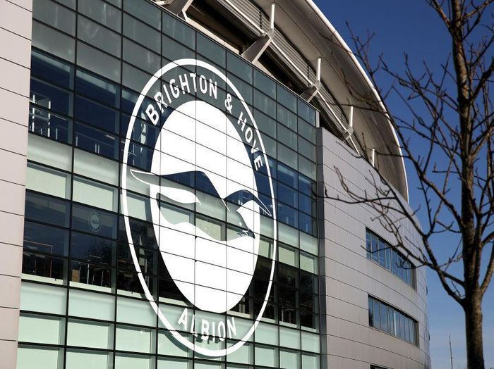 BRIGHTON, ENGLAND - FEBRUARY 08: General view outside the stadium prior to the Premier League match between Brighton & Hove Albion and Watford FC at American Express Community Stadium on February 08, 2020 in Brighton, United Kingdom. (Photo by Bryn Lennon/Getty Images)