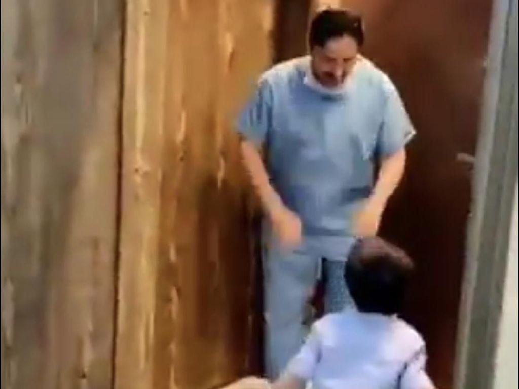 Cegah Corona, Dokter Arab Saudi Tak Mau Dipeluk Anaknya Viral di Twitter