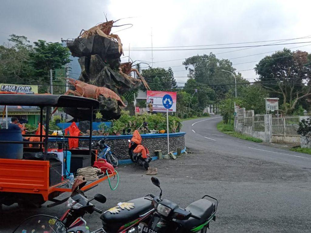 Gunung Merapi Erupsi, Kaliurang Sleman Masih Aman dari Hujan Abu
