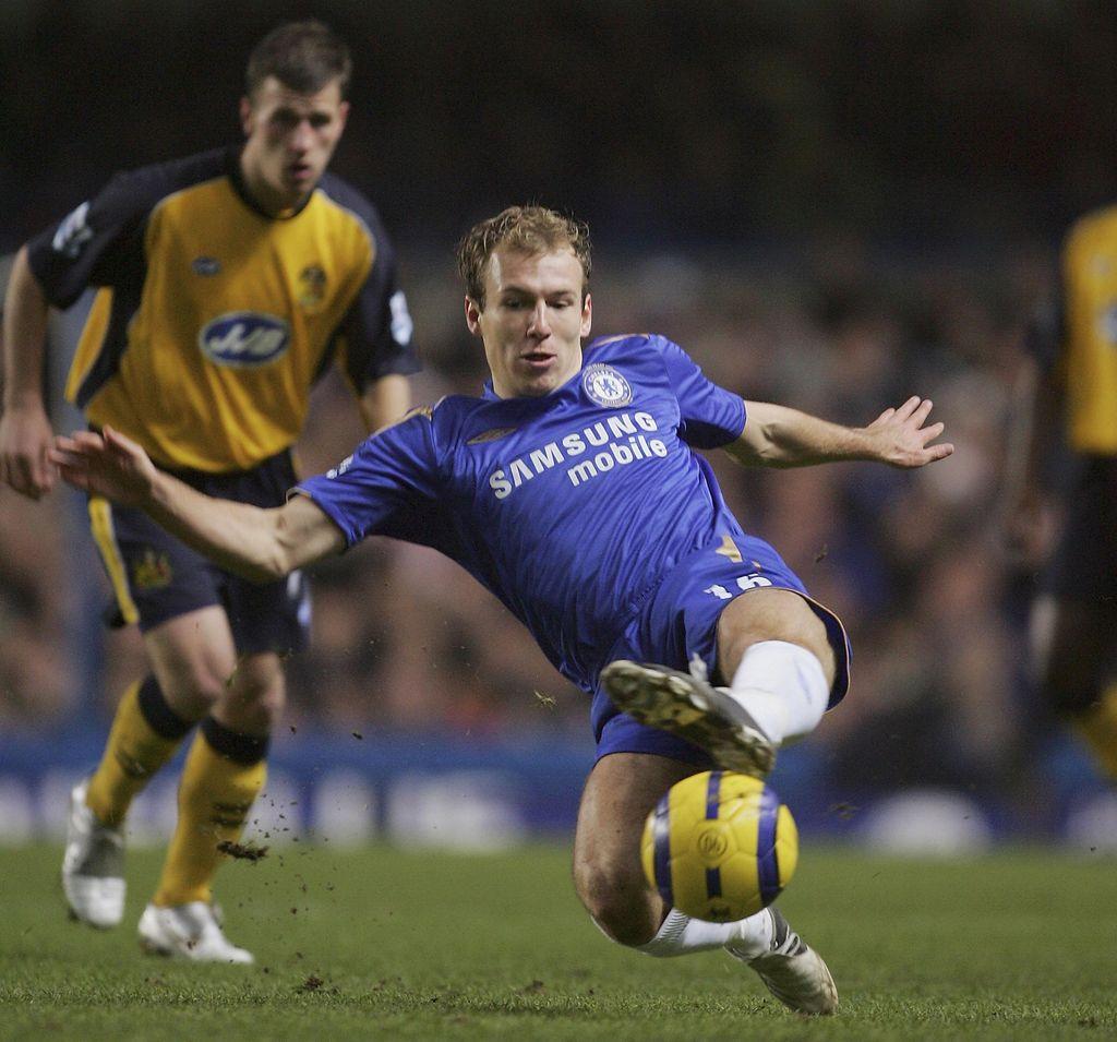Arjen Robben kala berseragam Chelsea