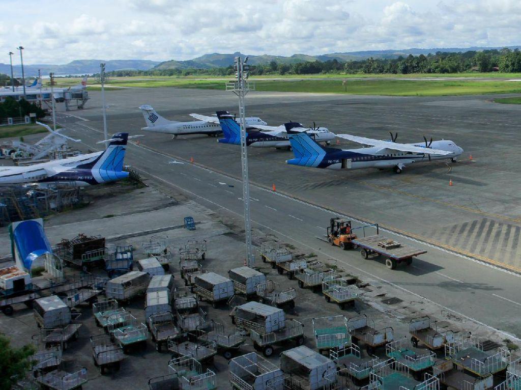 Cegah Corona, Bandara Sentani Papua Ditutup Sementara