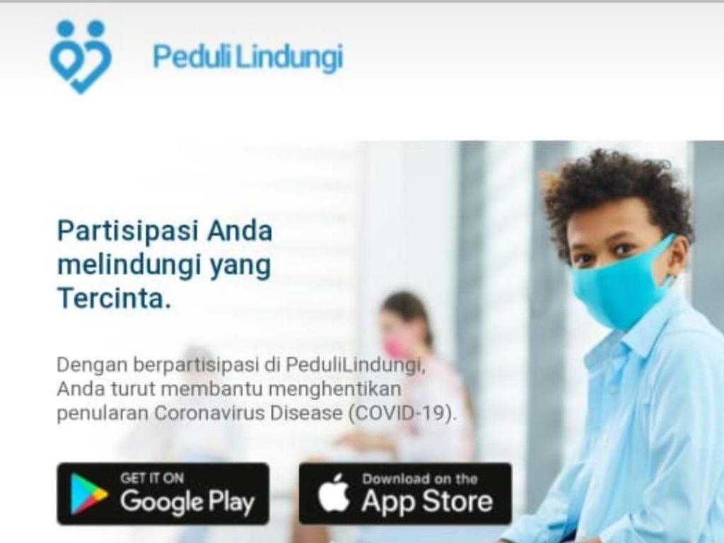 Kenali PeduliLindungi, Aplikasi Pemantau Corona Buatan Anak Negeri