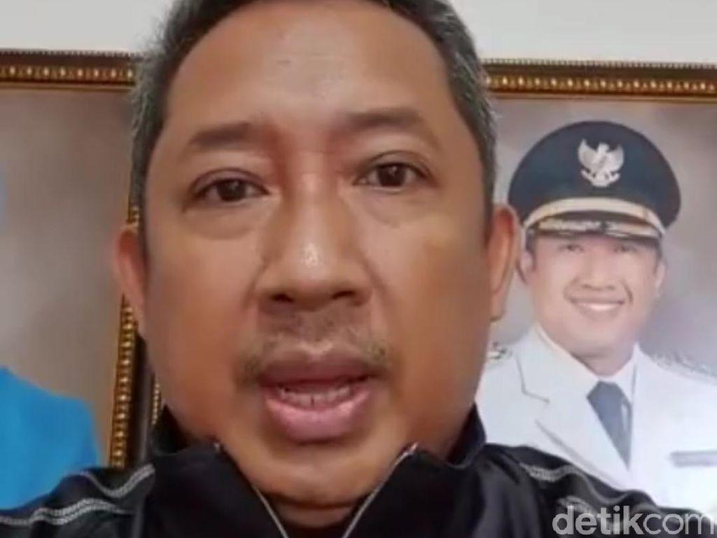 Video Wakil Wali Kota Bandung Umumkan Sembuh dari Corona