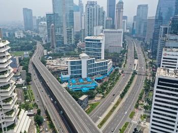 Asa Pembatasan Sosial Jakarta