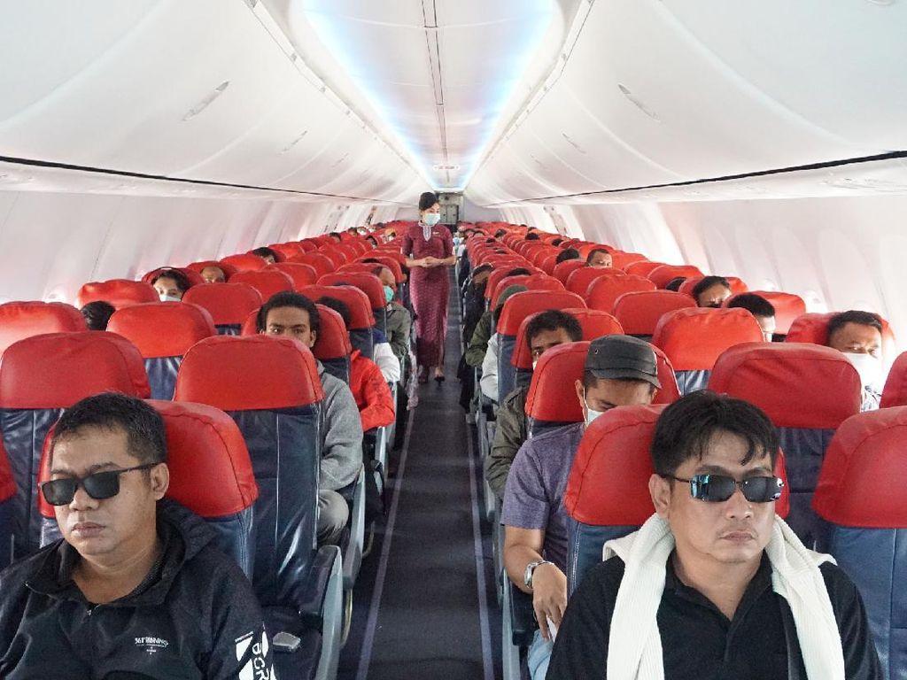 Cegah Corona, Lion Air Minta Penumpang #JagaJarakDulu