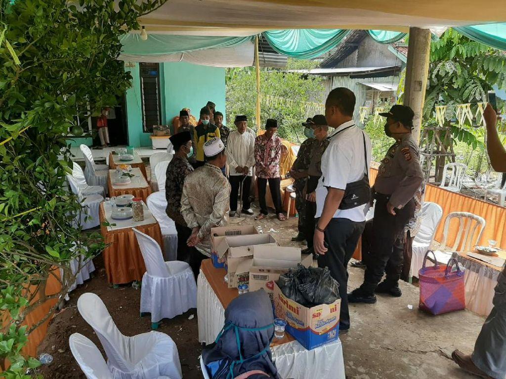 Cegah Corona, Aparat Bubarkan Pesta Pernikahan di Ciamis