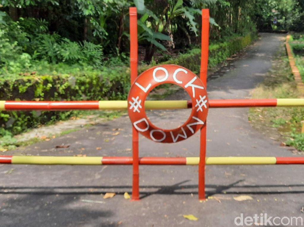 Tentang Kampung-kampung di Sleman Kompak Lockdown Demi Tangkal Corona