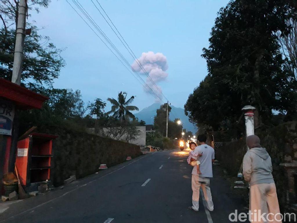 Gunung Merapi 3 Kali Erupsi Sejak Kemarin, Ini Penjelasan Lengkap BPPTKG