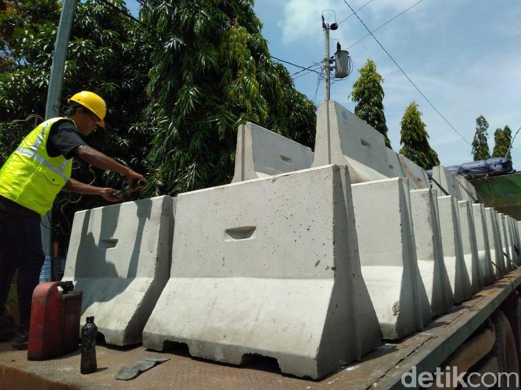 Cerita Isolasi Wilayah Kota Tegal Pakai Beton yang Sempat Disentil Jokowi