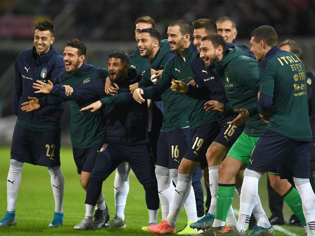 Inggris Vs Italia Batal, Wembley Tetap Sambut Tim Azzurri