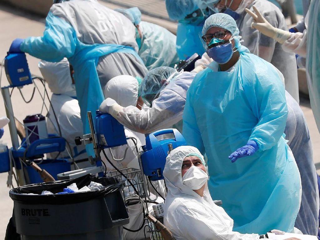 Jumlah Kematian Akibat Corona di AS Diprediksi Bisa Capai 200 Ribu Orang